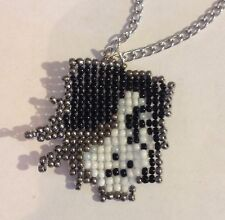 Undertale Mettaton EX Game Gamer Gaming Seed Bead Necklace Pendant Charm Jewelry