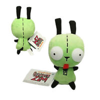 Alien Invader Zim Dog Suit Gir Robot Plush Doll Figure Soft Toy Xmas Gift
