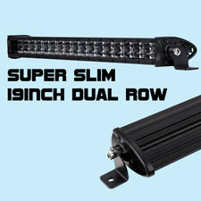 20inch 108W Super Slim 8D Single Row Spot Flood Combo LED Work Light Bar BWM SUV