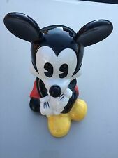 Walt Disney - Mickey Mouse Figurine Ceramic Coin Bank / Piggy Bank