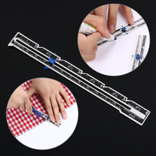 Stitch Tools Tailor Ruler Measuring Gauge Sewing Accessories Seam Ruler