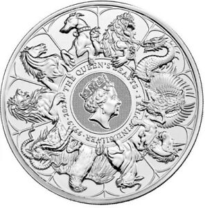 2021 Queen Beasts 'COMPLETER' 1 Kilo Silver Bullion - New In Stock