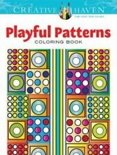 Creative Haven Playful Patterns Coloring Book Adult Coloring