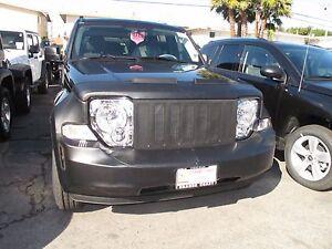 Colgan Front End Mask Bra 2pc. Fits Jeep Liberty 2008-2012 W/License