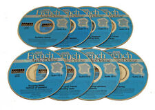 French Language Audio Instruction (8 Audio CDs) plays in any audio CD player