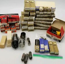 Vintage Electronic Vacuum Tube Lot 72 GE, RCA, Westinghouse, Dumont more Variety