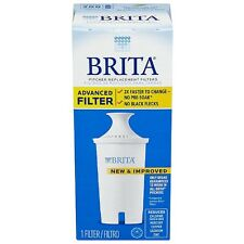 Brita Water Pitcher Replacement Filters, White 1 ea