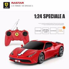 Original Rastar 71900 1/24 Ferrari 458 Speciale A Drift RC Car Red U6Z8