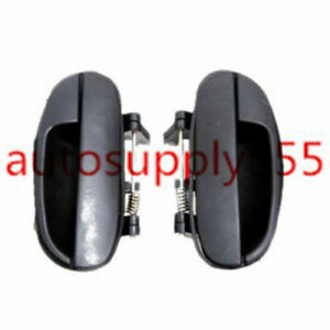 New Outside Outer Exterior Door Handles Rear Right & Left For 99-02 Daewoo Lanos