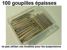 100 goupilles laiton pour horlogerie pendulerie pas pour suspension