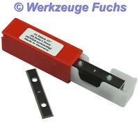 10 Stück HW (HM) Wendeplatten 50x8x1,5mm Z4 Wendeplatte Wendemesser
