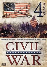 Civil War - 4 Movie DVD Set: Drums in the Deep South / HellBenders / Blood...