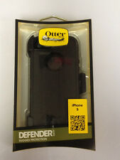 OtterBox Defender iPhone 5 5s SE Hard Rugged Case w Holster Belt Clip Black Use