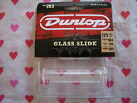 JIM DUNLOP GLASS SLIDE GUITAR NEW IN PACKAGE #203 LARGE