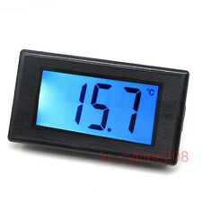 Digital Thermometer Temperature Meter -50℃~150℃ led w/Probe for 12v car Aquarium