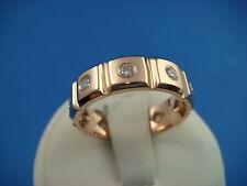 !ELEGANT,  MEN'S ROSE GOLD DIAMOND ETERNITY BAND-RING 7.6 GRAMS SIZE 9