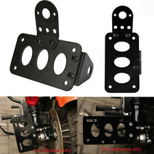 Motorcycle License Plate Holder License Bracket For Harley Bobber Chopper Black