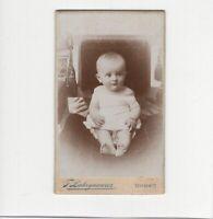 CDV Foto Schönes Kinderbild / Baby - Czernowitz / Russland / Ukraine 1890er