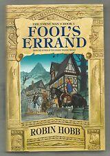 Fool's Errand, Tawney Man Book 1, Robin Hobb, 1st prt, 1st edt, hardcover