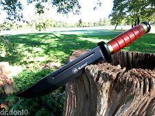 Cuchillo de caza cuchillo Knife Bowie coltello cuchillo couteau Hunting mango de madera