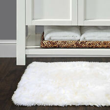 "Bath Rug, Non Skid Back, Soft Faux Fur - St. Lucia Prima 24"" x 40"""