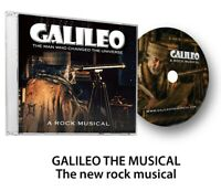 GALILEO - THE MUSICAL  - A new original rock musical CD with bonus narration.