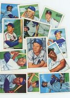 1952 SUPER STAR SET HALL OF FAME SET 14 CARDS MICKEY MANTLE WILLIE MAYS S MUSiAL
