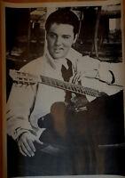 Poster Elvis Presley mit Gitarre Plakat 50er rockabilly rock n roll Movie Star