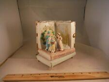 Vintage Christmas Charles Dickens Storybook Music Box
