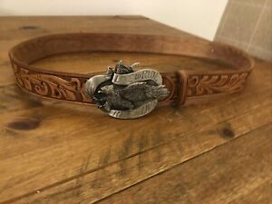 Live to Ride Ride To Live Leather Harley Davidson Belt
