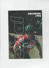 Ciclo UNIVERSALE BROCHURE / poster BICICLETTA 1996-RIVIERA / BMX / Sierra Nevada