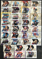 2012 British Gold Medal Winners London Paralympic Games Used Stamp Set Of 34