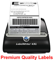 4 Rolls 220 Thermal Shipping Labels 4x6 Compatible 1744907 Dymo 4XL Label Writer