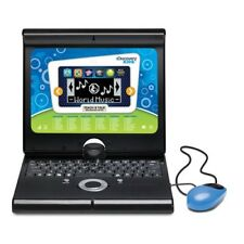 Childs Laptop Computer Learning Toy Educational Games Teach Talk Discovery Blue