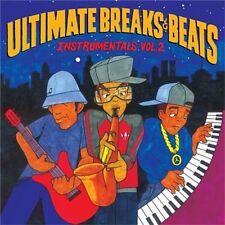 Ultimate Breaks & Beats Instrumentals Vol 2 Vinyl LP Record 2009 NEW