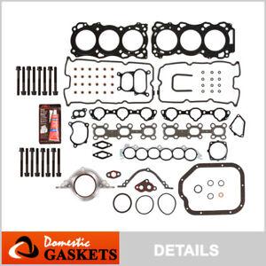 Fits 02-06 Nissan Altima Quest Infiniti I35 3.5L Full Gasket Set Bolts VQ35DE
