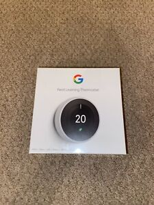 BRAND NEW SEALED Nest Learning Thermostat - 3rd Generation WHITE T3030EX