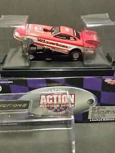 NHRA 1997 Action Diecast 1:64 Whit Bazemore Winston Mustang Funny Car