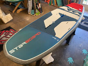 "STARBOARD 7'4"" X 30"" HYPERNUT 4 In 1 SUP STAND UP PADDLE SURF FOIL WING FOIL"