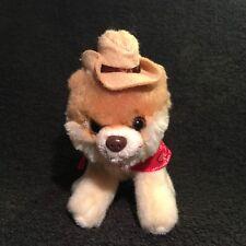 """Gund Itty BITTY BOO #016 Sombrero de vaquero y Bandana Roja para 5"""" de alto Pomerania 4040350"""
