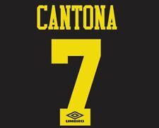 California #7 Manchester United 1993-1995 lejos de fútbol local para camisa