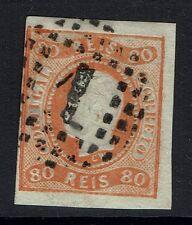 Portugal SC# 22, Used, Light Embossing Head Tear -  Lot 05222016