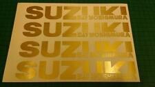 4x suzuki gsx-r 750 600 1000 gsf bandit jante autocollant decal moto vinyl