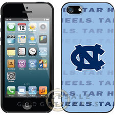 Apple iPhone 5S/SE Licensed Shield NCAA North Carolina Tarheels Repeating