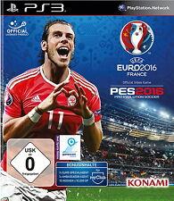 Pro Evolution Soccer: UEFA EURO 2016 (Sony PlayStation 4, 2016)