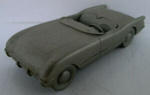 Danbury Mint Chevrolet Corvette 1953, Standmodell aus Zinn, ca. 7,1 cm lang