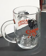 Casino Yellowhead ABS collection glass mug west 1973 Edmonton Calgary Lethbridge