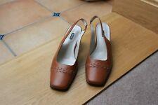 Ladies Brown Slingback ECCO Shoes - Brand new/unworn