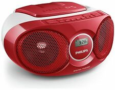 Philips AZ215R/05 Boombox - Red.