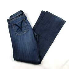 Kut From The Kloth Slace Bootcut Jeans Dark Wash Cotton Blend Size 2